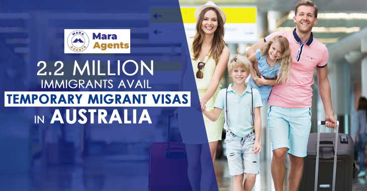 2.2 Million Immigrants Avail Temporary Migrant Visas in Australia