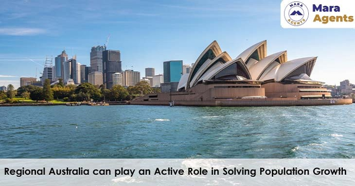 Regional Australia can Play an Active Role in Solving Population Growth
